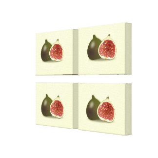 Fig Wrapped Canvas Panels