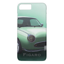 Figarations Emerald Green Nissan Figaro Car iPhone 8 Plus/7 Plus Case