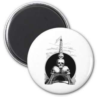 Figaro. An Eiffel Tower for the Cemetery Magnet