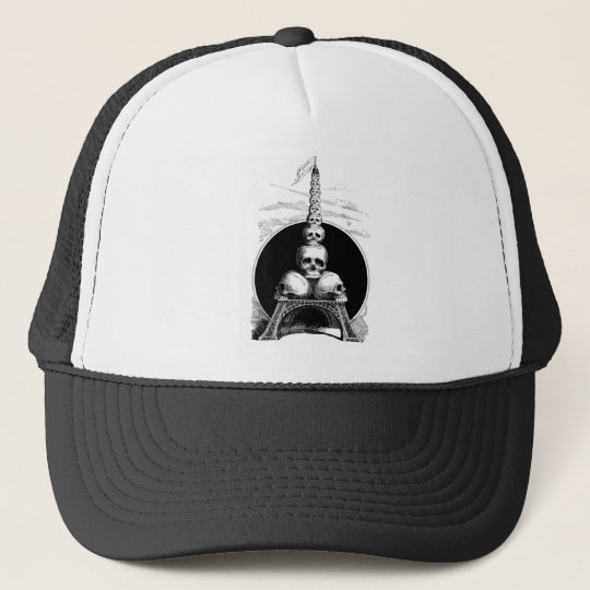 Figaro. An Eiffel Tower for the Cemetery Trucker Hat