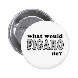 Figaro Pinback Button