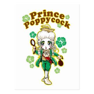 Figaro Poppycock Postcard