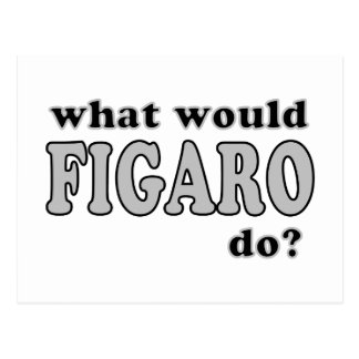 Figaro Postcard