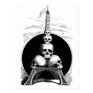 Figaro. Una torre Eiffel para el cementerio Postales