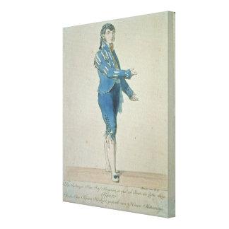 Figaro, valet to Count Almaviva Canvas Print