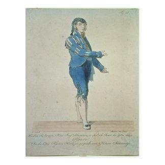 Figaro, valet to Count Almaviva Postcard