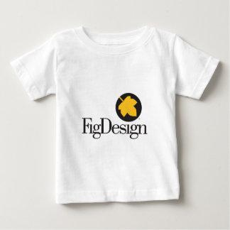 FigDesign Geometric Leaf Logo shirt