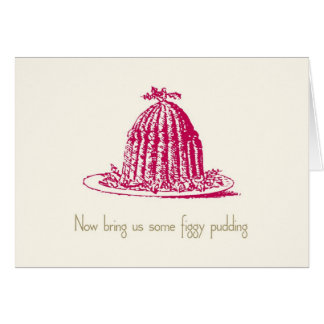 Figgy Pudding Holiday Card