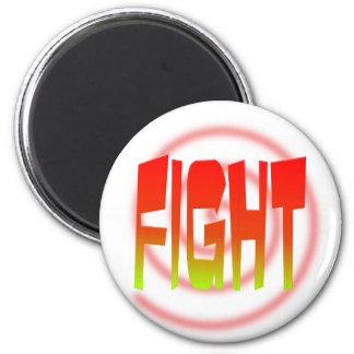 fight 2 inch round magnet
