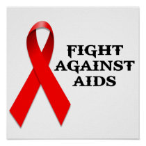 Fight Against Aids Poster