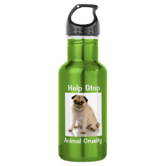 Fight against animal cruelty water Liberty Bottle