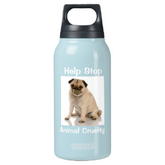 Fight against animal cruelty water Liberty Bottle 10 Oz Insulated SIGG Thermos Water Bottle