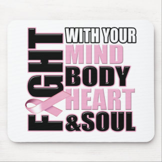 Fight Against Breast Cancer Mouse Pad