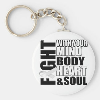 Fight Against Cancer Keychain