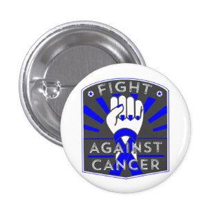 Fight Against Colon Cancer 1 Inch Round Button