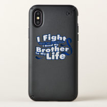 Fight Against Colon Cancer For Brother Speck iPhone X Case