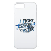 Fight Against Colon Cancer For Sister iPhone 8/7 Case