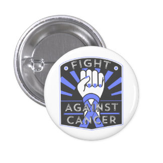 Fight Against Esophageal Cancer 1 Inch Round Button