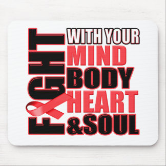Fight Against Heart Disease Mouse Pad
