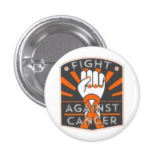Fight Against Leukemia 1 Inch Round Button