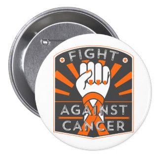 Fight Against Leukemia 3 Inch Round Button