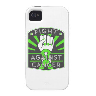 Fight Against Lymphoma Vibe iPhone 4 Case