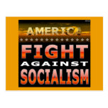 Fight Against Socialism Post Card