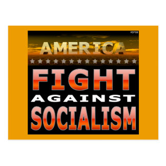 Fight Against Socialism Postcard
