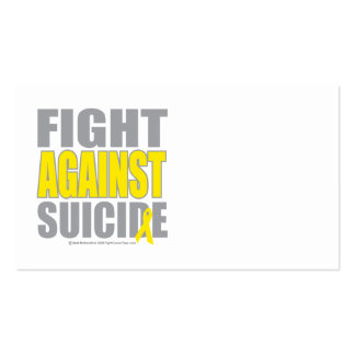 Fight Against Suicide Business Card