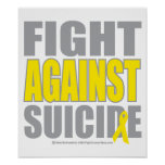 Fight Against Suicide Print