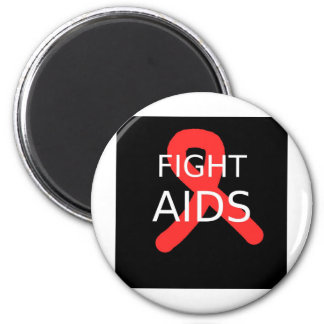 Fight AIDS Magnet