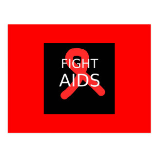 Fight AIDS Postcard
