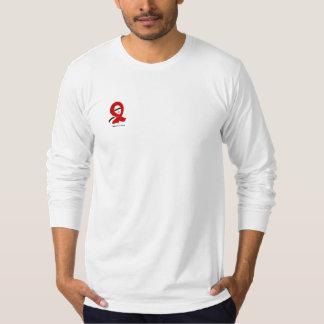 FIGHT AIDS RIBBON DESIGN T-Shirt ©2009 LT