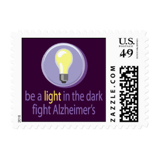 Fight Alzheimer's Stamps