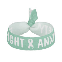 Fight Anxiety Hair Tie