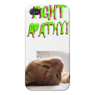 FIGHT APATHY! ...or don't. Case For iPhone 4