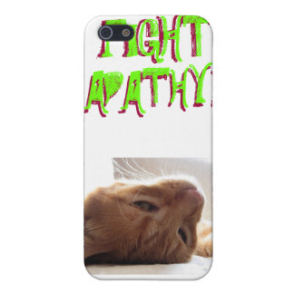 FIGHT APATHY! ...or don't. Case For iPhone SE/5/5s