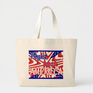 FIGHT BACK AMERICA CANVAS BAG