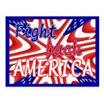FIGHT BACK AMERICA POSTCARD