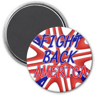 FIGHT BACK AMERICA REFRIGERATOR MAGNETS