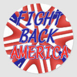 FIGHT BACK AMERICA STICKER