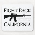 Fight-Back-CALIFORNIA.png Mouse Pad