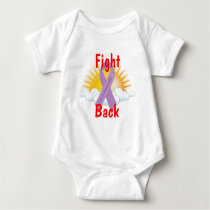 Fight Back Cancer Awareness Baby Bodysuit