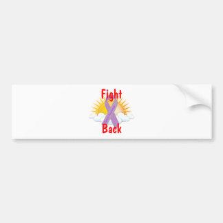 Fight Back Cancer Awareness Bumper Sticker