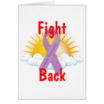 Fight Back Cancer Awareness Card