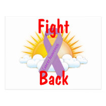 Fight Back Cancer Awareness Postcard