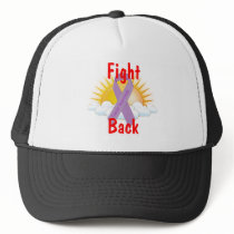 Fight Back Cancer Awareness Trucker Hat