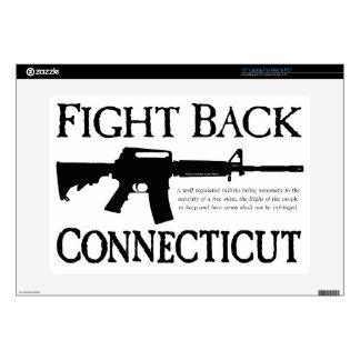 Fight-Back-Connecticut-2.png 38,1cm Portátil Calcomanías