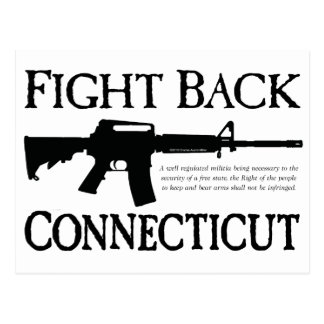 Fight Back Connecticut Postcard