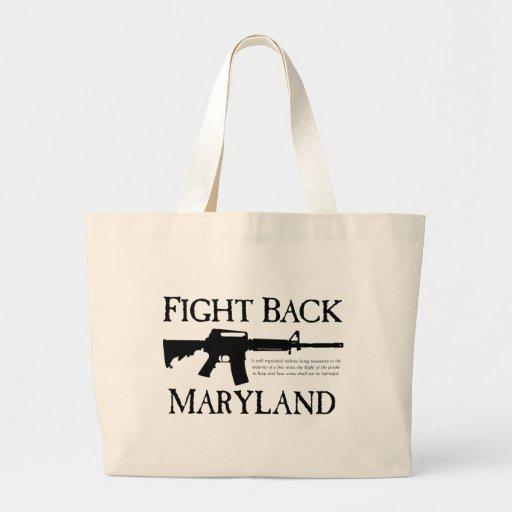 FIGHT BACK MARYLAND BAG